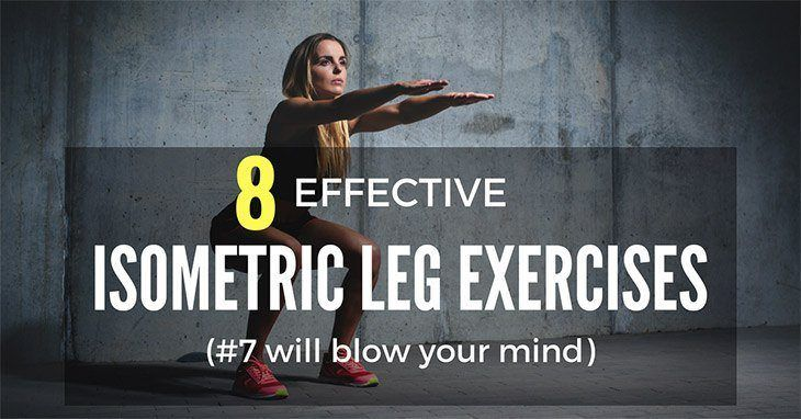 Isometric Leg Exercises