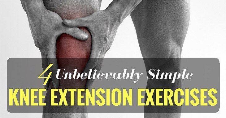 Knee Extension Exercises