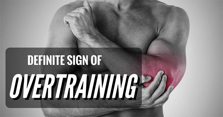 What Is A Definite Sign Of Overtraining