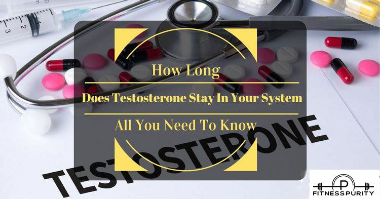 How long does Testosterone stay in system