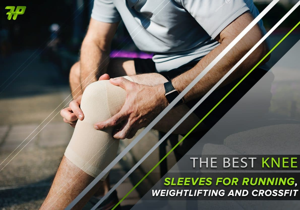 Knee Sleeve 7mm Pair Brace Support Patella Power Lifting Strongman Comp Crossfit