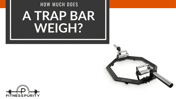 how much does a trap bar weigh?