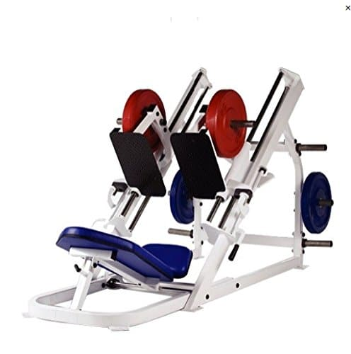 A bilateral or unilateral leg press machine