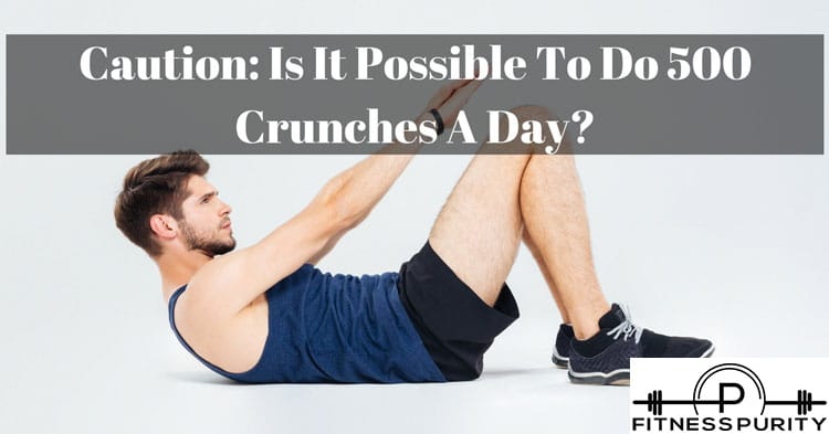 500 crunches a day