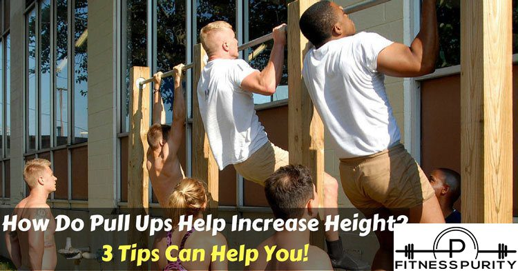 how do pull-ups increase height?