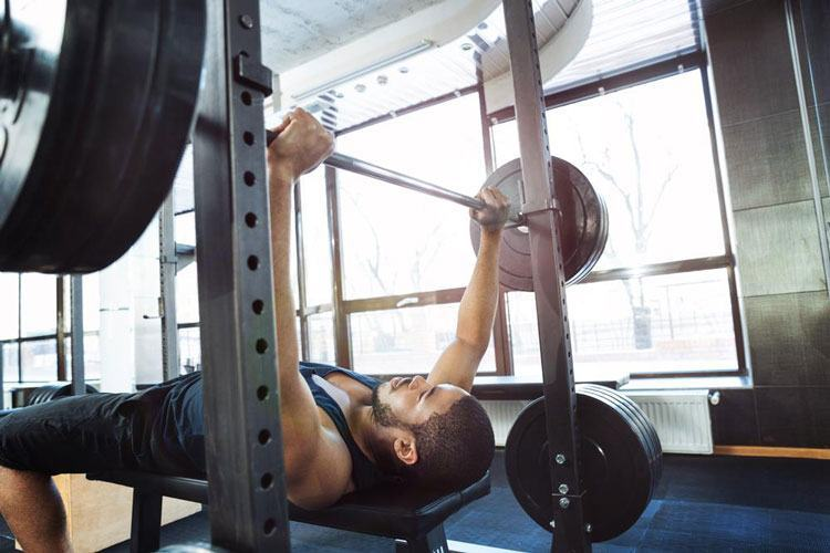 power rack benching