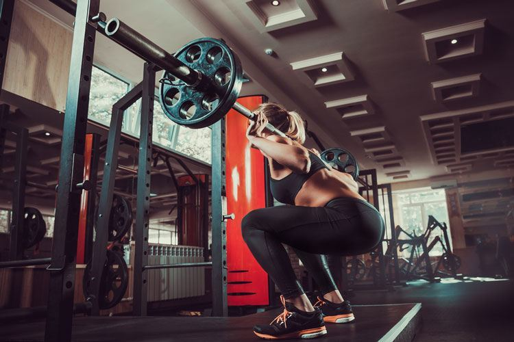 squats with your power rack