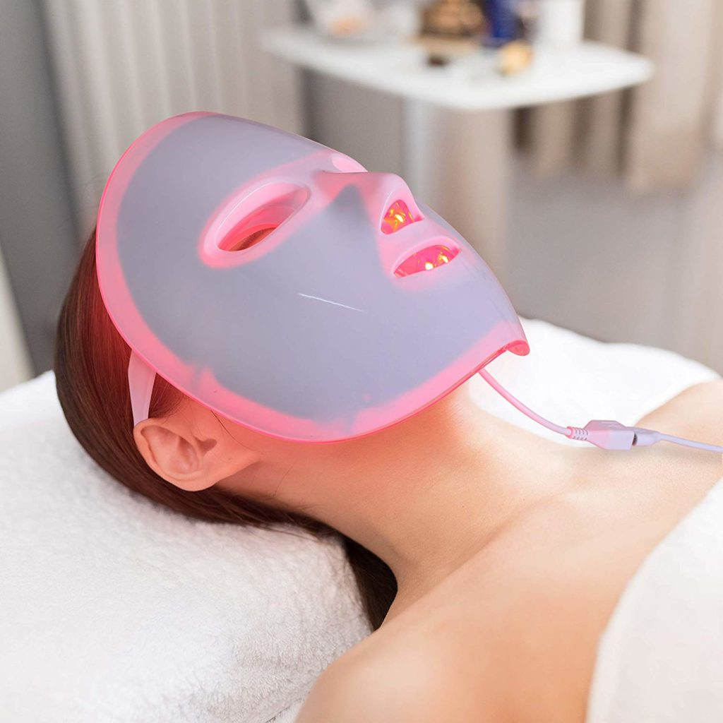 LED Photon Lichttherapie Maske