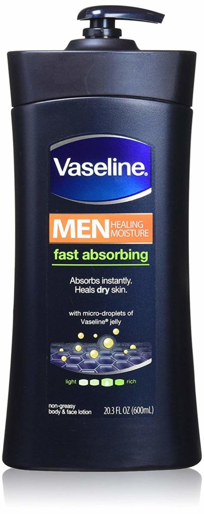 Vaseline Men Body and Face Lotion