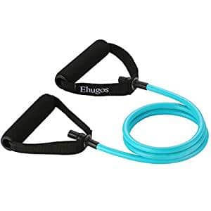 Tube resistance bands with handles