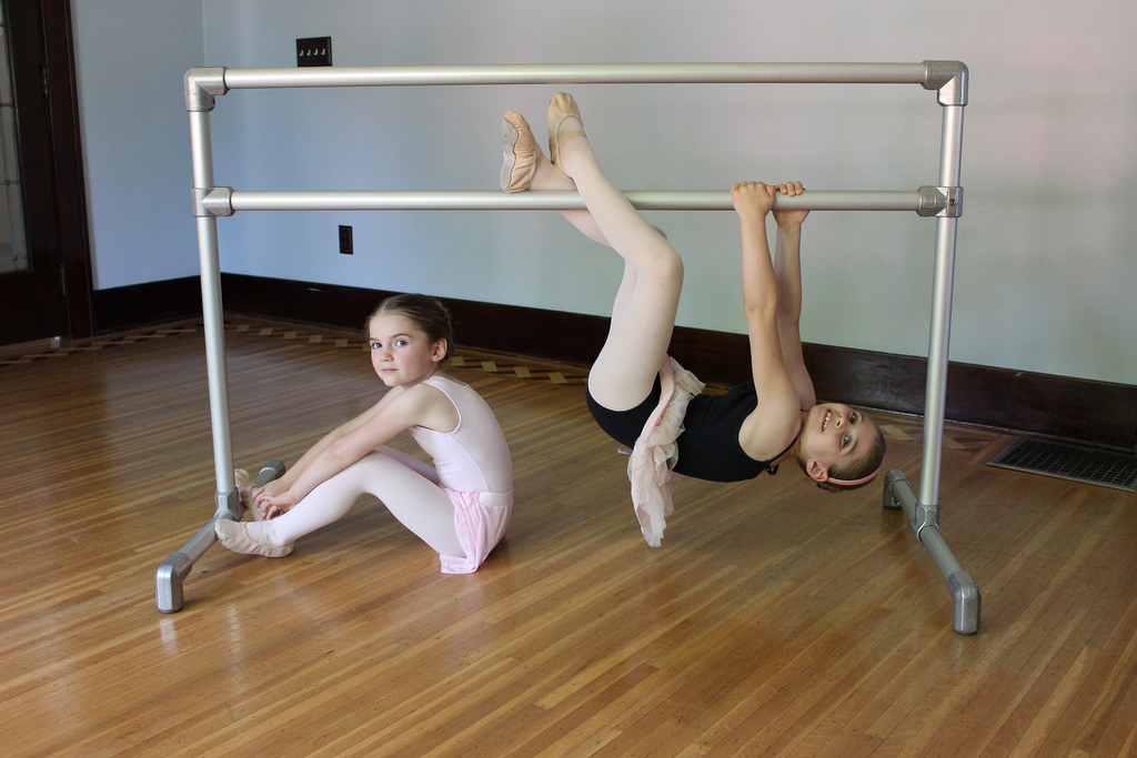 DIY Freestanding Ballet Barre